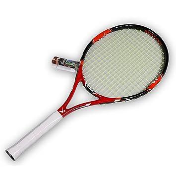 cb7178f046 RDJM Racchetta Da Tennis Per Adulti Full-Carbon/Alluminio-Carbonio, Racchetta  Consigliata Per Allenatore, Include Antivibrazione Per Overgrip Da Borsa Da  ...