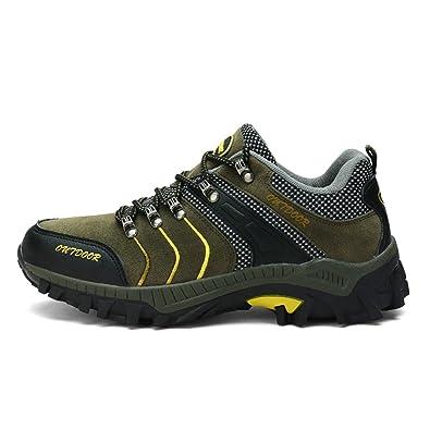 63856904cb6 Amazon.com | TANTU Men's Outdoor Mountaineering Shoes, Waterproof ...
