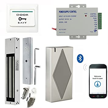 Bluetooth Smart Security Access Control Kits Use Mobile Phone To