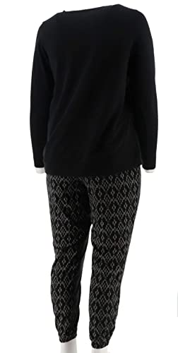Stan Herman French Terry Tunic Jogger Lounge Set A286886 at Amazon Women s  Clothing store  597d2d8e8