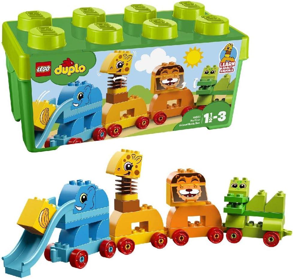 レゴ(LEGO) デュプロ みどりのコンテナデラックス どうぶつでんしゃ 10863