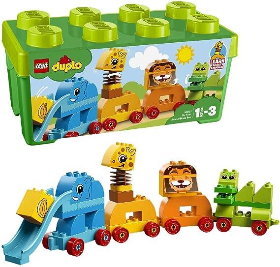 LEGO DUPLO - Mis Primeros Animales (10863) , color/modelo surtido: Amazon.es: Juguetes y juegos