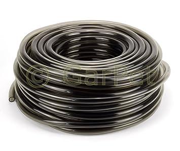 Beliebt PVC Schlauch schwarz-transparent 16/20 mm Meterware: Amazon.de NY36
