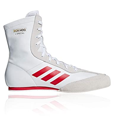 ab38fabb579 adidas Box Hog X Special Boxing Shoes - SS19 White  Amazon.co.uk  Shoes    Bags