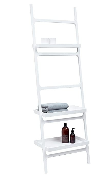 Remarkable Amazon Com Dwba Stone Wall Towel Rack Ladder For Bathroom Interior Design Ideas Clesiryabchikinfo