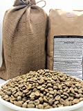 20 LBS – SULAWESI IN A BURLAP BAG- Farm: White Eagle, Washed, Grade 1, 1800M, Earthy, Hints of Berry with a Tangy Finish, Specialty-Grade Green Unroasted Whole Coffee Beans, for Home Coffee Roasters