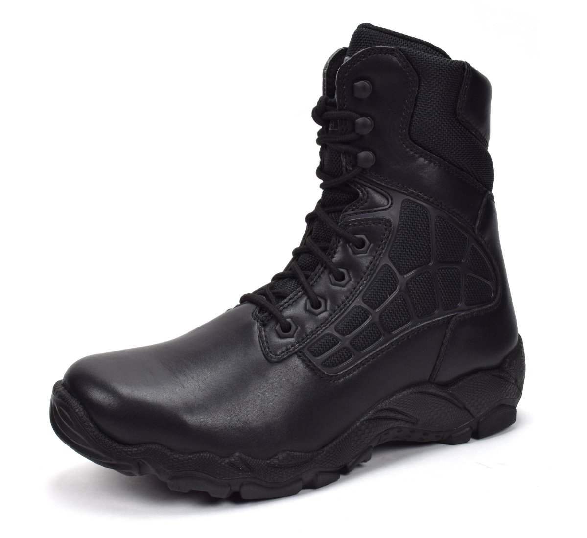CONDOR Arizona Men's 8'' Steel Toe Work Boot - Black, Size 12 E US
