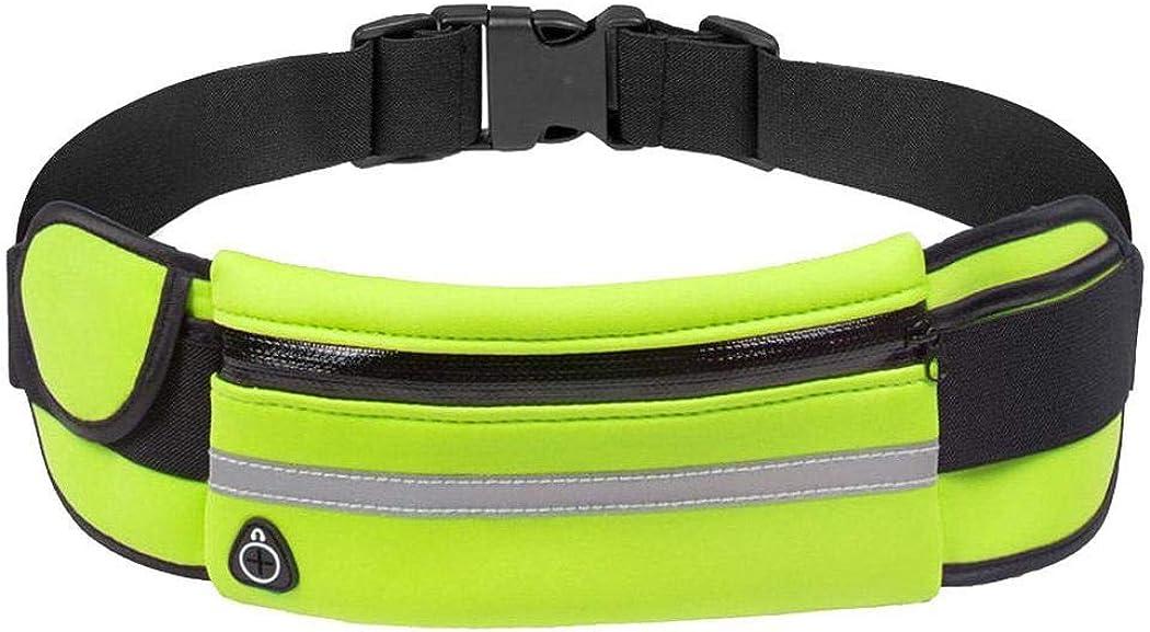 Kloius Bolsa de Cintura de tel/éfono antirrobo Impermeable para Correr al Aire Libre con Orificio para Auriculares Ri/ñoneras