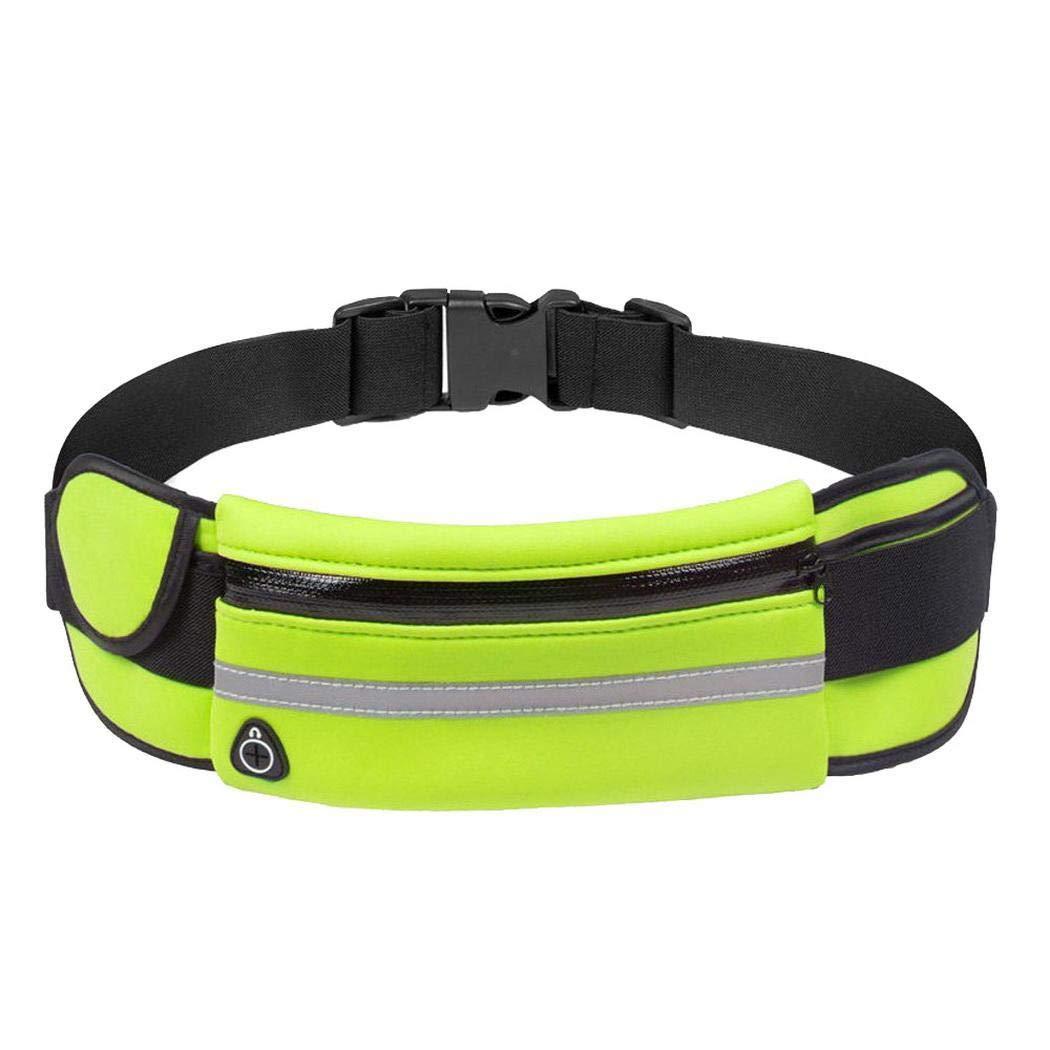 Koede Outdoor Running Waterproof Anti-Theft Phone Waist Bag With Earphones Hole Fashion Waist Packs