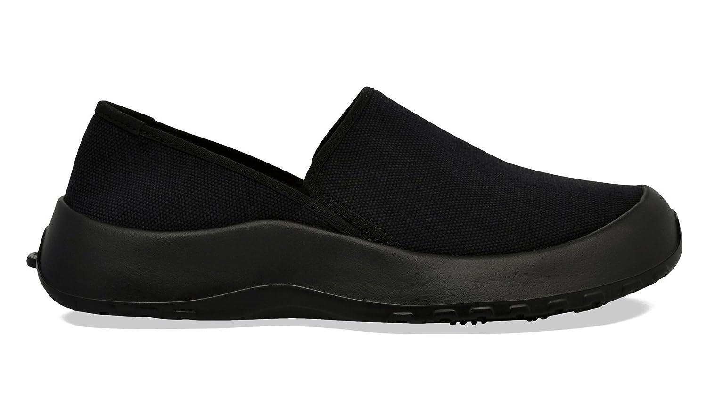 SoftScience The Drift Canvas Men's/Women's Slip On Shoes B01D1RWB96 M13/W15|True Black
