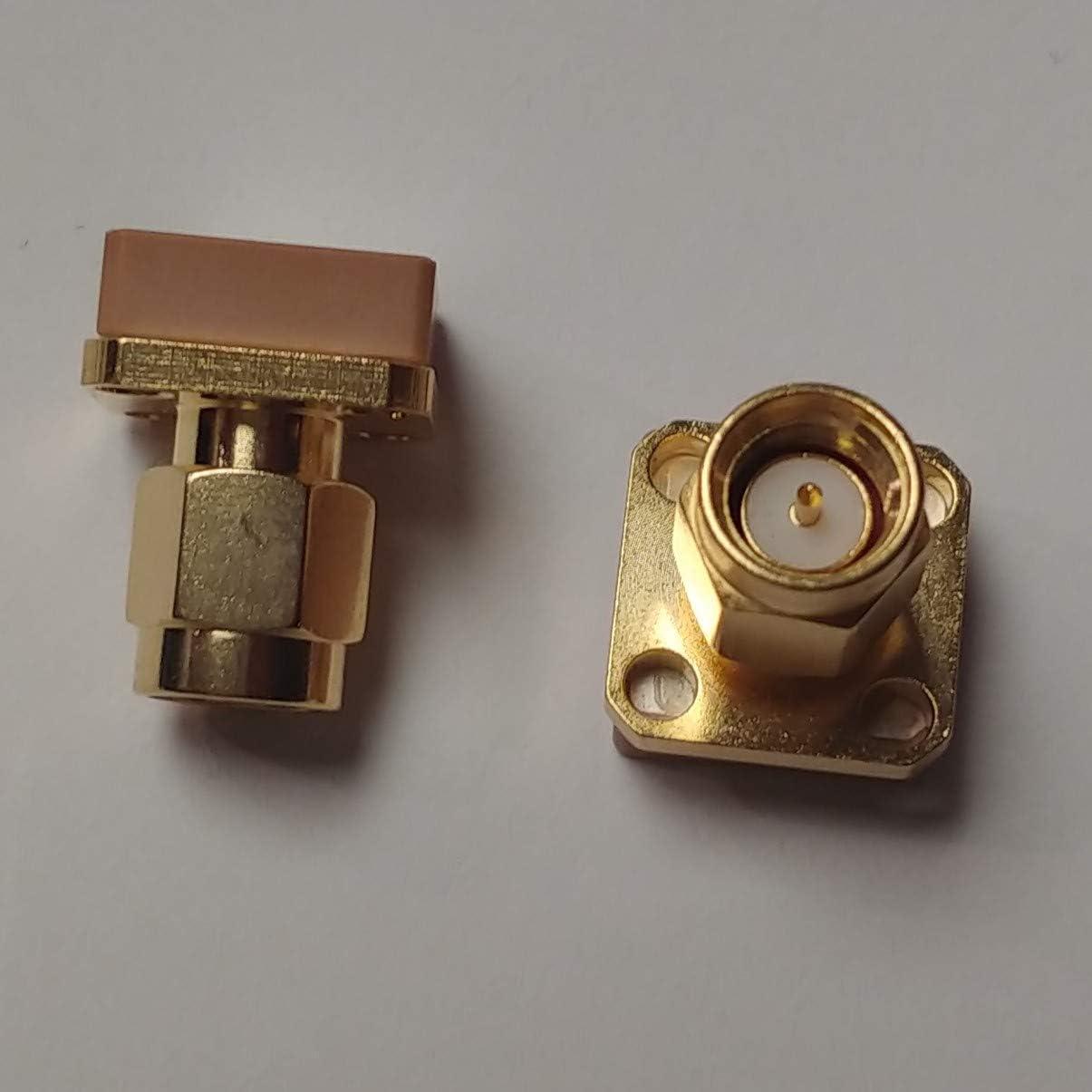 HZLabs Mini GPS Antenna 1575MHz,Covert//Tracking 2 Pack Bulkhead Mount Male SMA