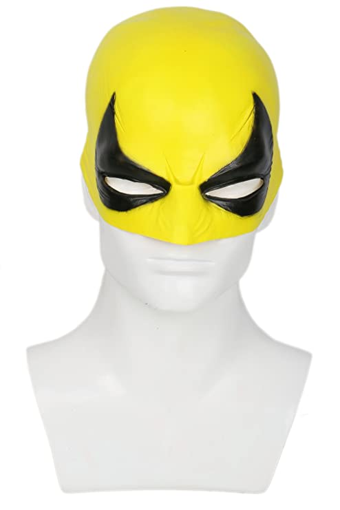 Amazon.com: Iron Fist Mask Costume Accessories for Adult Halloween Cosplay Latex: Toys & Games