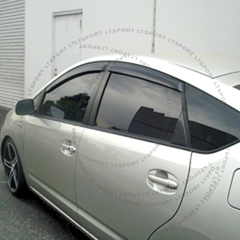 LT Sport Custom Fit 04-09 Toyota Prius Window Visor Rain Guard Deflector 4pcs