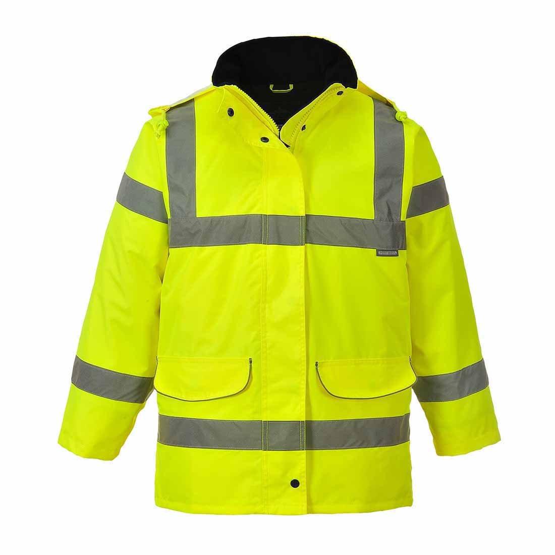 PORTWEST S360 Hi-Vis Ladies Traffic Jacket Yellow S360YE-RXL