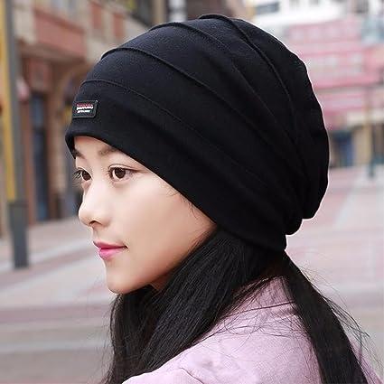 SAIBANGZI Tapa Para Hombres Y Mujeres Cabeza De Luz Tapa Bufanda Hat Otoño  Cap Mujer Embarazada 9c70f55f894
