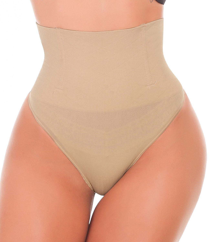 LANFEI Women's Shapewear Thong Slimming Body Shaper Tummy Control Panty LFCANB238