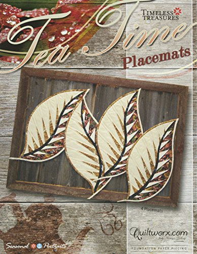 tea time placemats quilt pattern