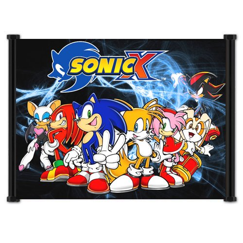 Sonic X Anime Fabric Wall Scroll Poster  Inches -Sonic X-9