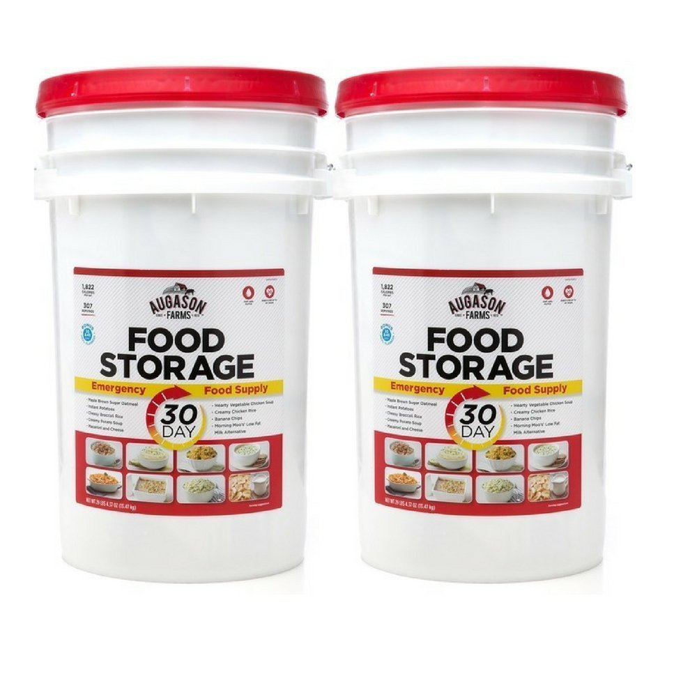 Augason Farms 30-Day Emergency Food Storage Supply Pail (2 pail) by Augason Farms