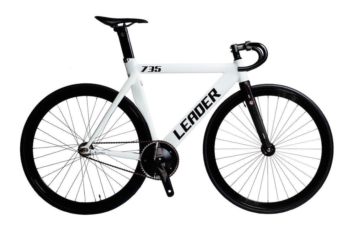 LEADER BIKES リーダーバイク 735TR 2018 Complete Bike コンプリートバイク 完成車 B01FM478VM XL|ホワイト(WHITE) ホワイト(WHITE) XL