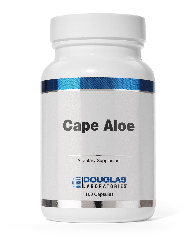 Douglas Laboratories – Cape Aloe – Cape Aloe Latex Supports Bowel Regularity* – 100 Capsules