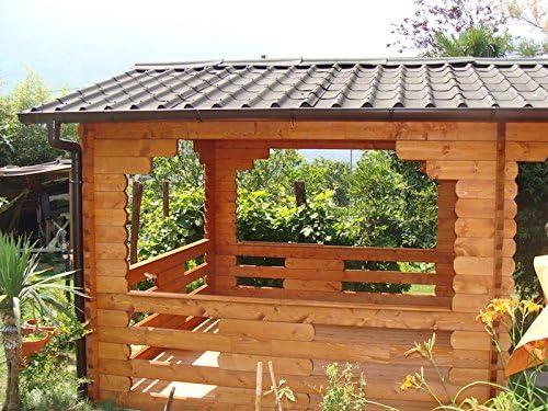 Mirador de madera 3 x 3.: Amazon.es: Jardín