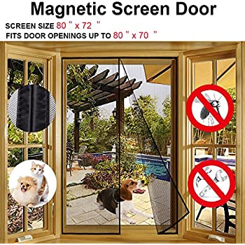 Merveilleux Magnetic Screen Door For French Doors,Sliding Glass Doors, Patio Doors Fits  Doors