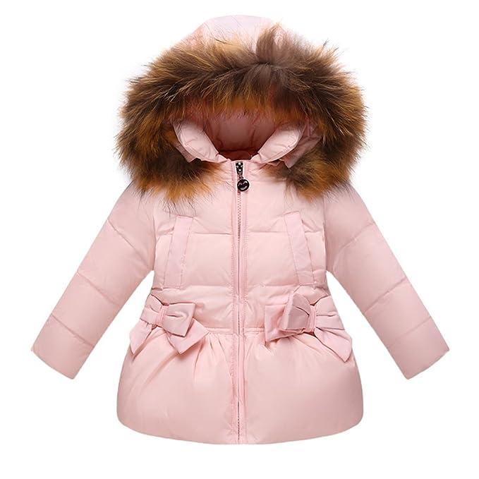 Scothen Chaqueta de invierno para niños Chaqueta de invierno con capucha Abrigo largo Chaqueta de invierno cálido Abrigo de invierno abrigado Abrigo de ...