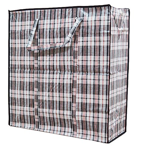 Pack of 2 Household Plastic Storage Laundry Shopping Bags W.