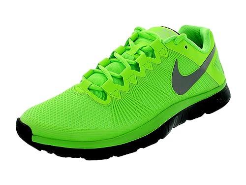 Nike Mens Free Trainer 3.0 Training Shoe Flash Lime Black Reflect Silver