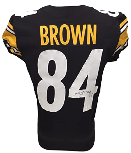 e1a44138128 Antonio Brown Signed Pittsburgh Steelers 2017 Game Issued Jersey WP876892 -  JSA Certified - Autographed NFL Jerseys at Amazon s Sports Collectibles  Store