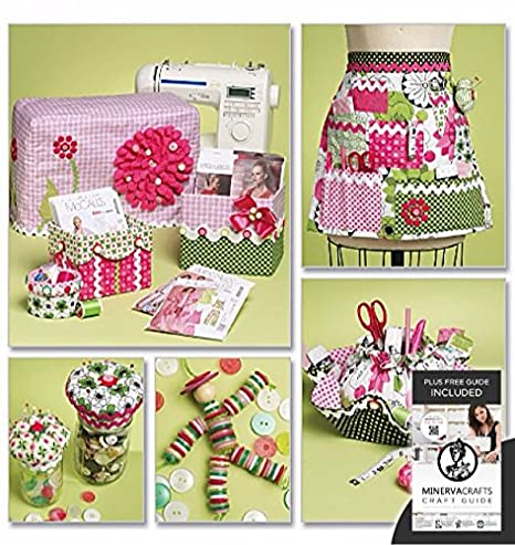 Mccalls Sewing Pattern 6095 Crafts Sewing Machine Cover Apron
