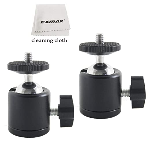 EXMAX - Soporte de Cabeza de Bola de trípode de 360 Grados con ...