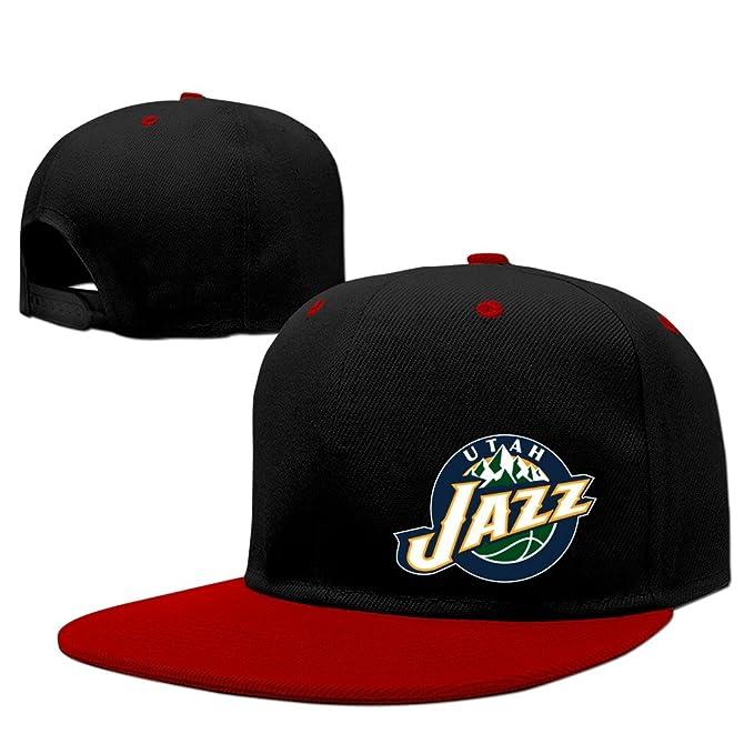 Kep Utah Jazz Logo Vivint Smart Home Arena Snapback Hats Red  Amazon ... 1ce260ae259