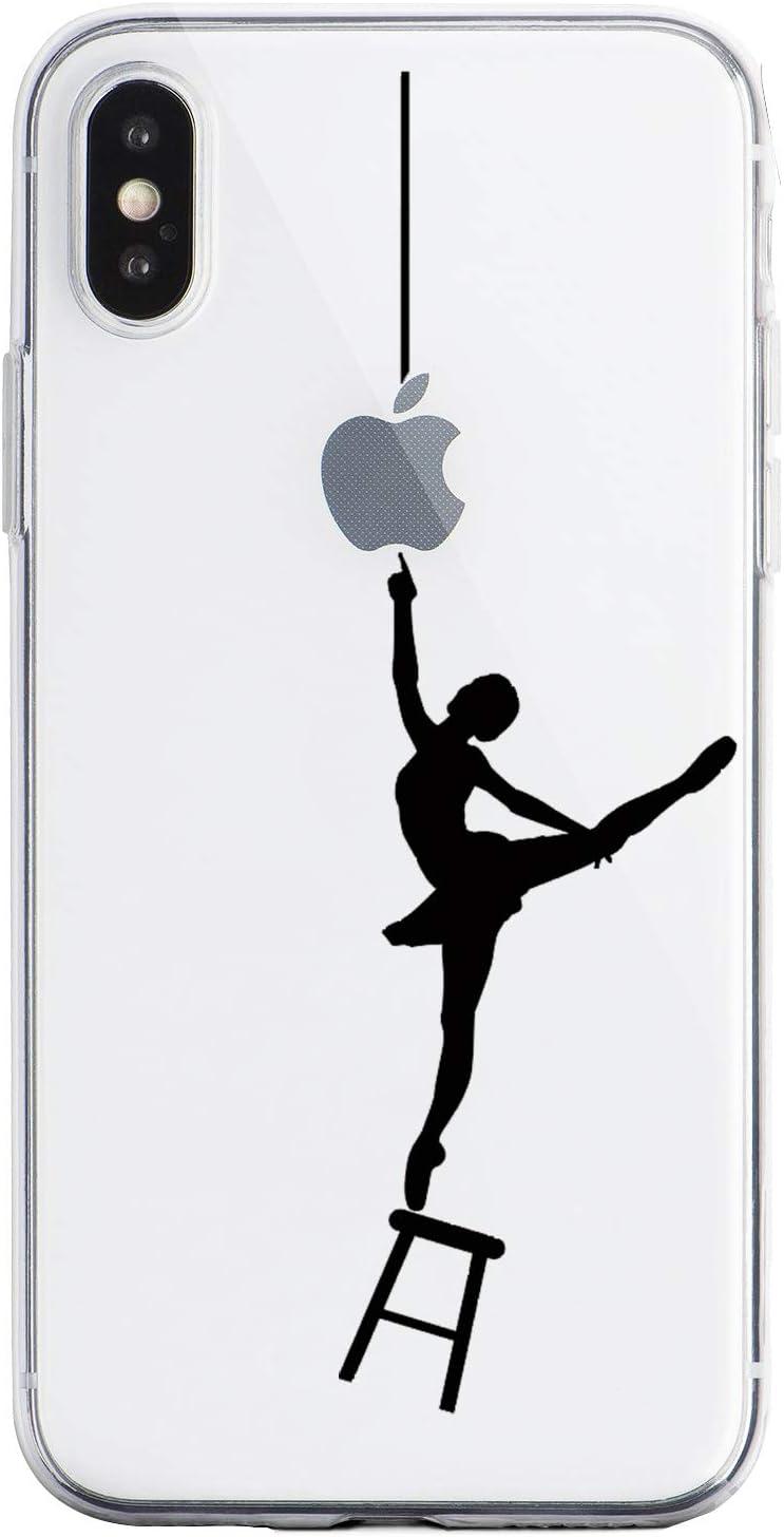 Oihxse Funda iPhone 11, Ultra Delgado Transparente TPU Silicona Case Suave Claro Elegante Creativa Patrón Bumper Carcasa Anti-Arañazos Anti-Choque Protección Caso Cover (A11)