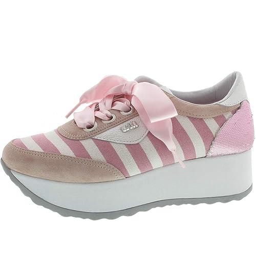 Cetti - Zapatillas para Mujer Rosa, Color Rosa, Talla 39 EU: Amazon.es: Zapatos y complementos