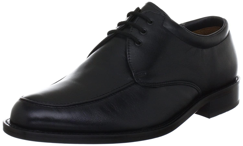Manz Herren Eaton Derby 001 schwarz, 38 39 EU