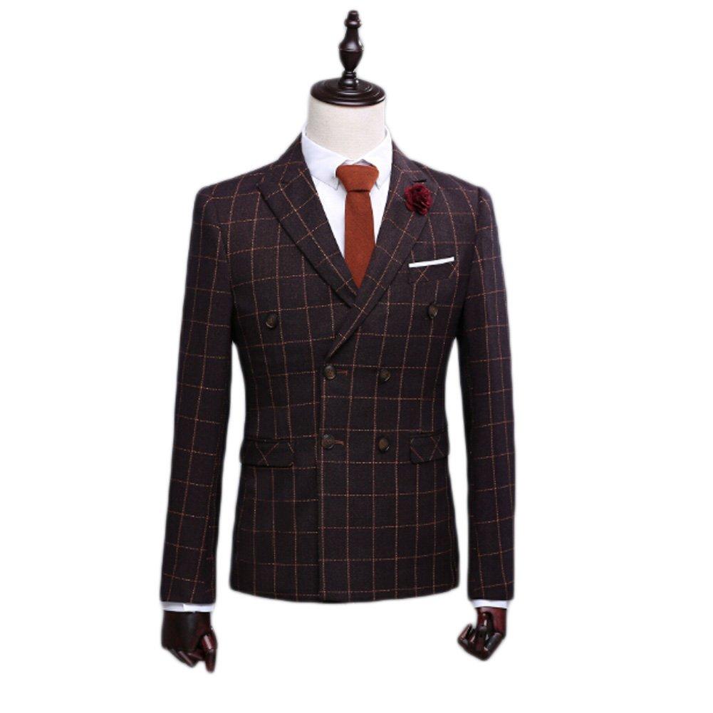 Love Dress Men's Suit 3-Piece Blazer Jacket Flat Front Pants M