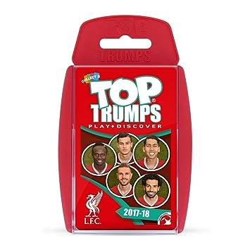 Top Trumps Juego de Cartas Liverpool FC 2017/18