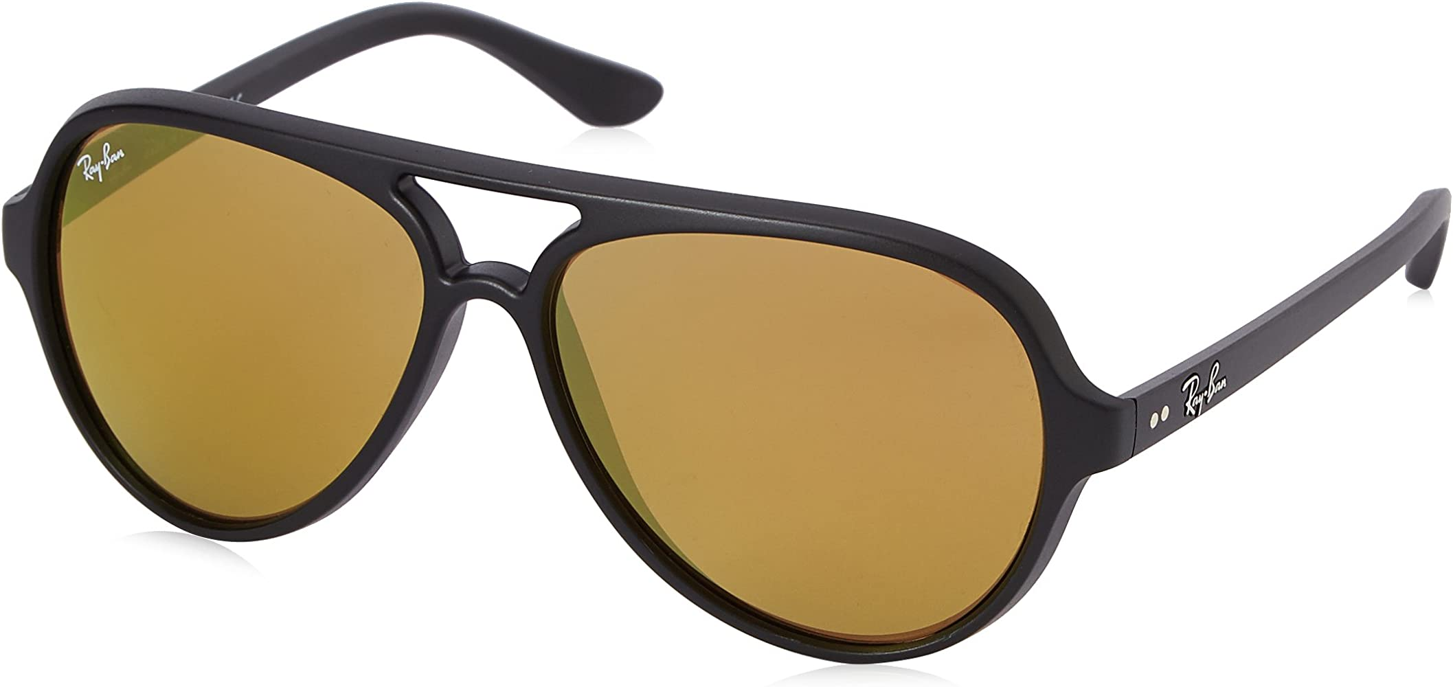 Ray-Ban Junior 0RB4125 601S93 59 Gafas de sol, Matte Black/Brown ...