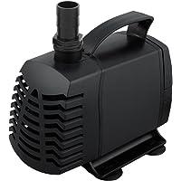 4000L Submersible Aquarium Fountain Water Pump - Black AQ-SPH-6400