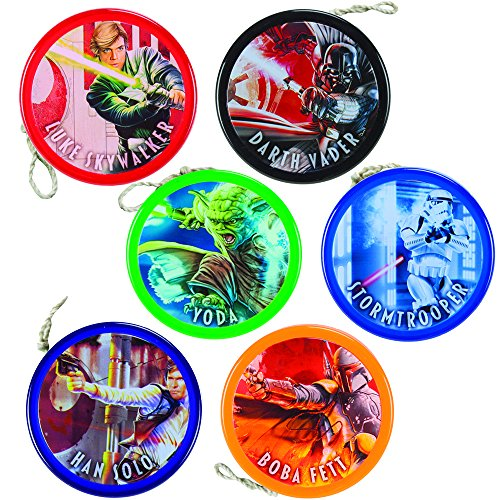 (Collector's Cache: Complete Set of 6 Yomega Star Wars Alpha Wing Fixed Axle Yo-Yos)