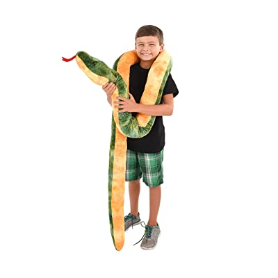 Rhode Island Novelty Giant Anaconda Snake Plush Toy 100 Inch Long: Toys & Games