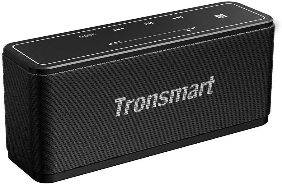 Tronsmart Mega Altavoz Bluetooth, Sonido Digital 3D, Panel Táctil, 40W Altavoz inalámbrico Portátil con TWS & NFC, 15H de Reproducción Continua y Manos Libres para Fiesta, Hogar, Playa, Viajes - N