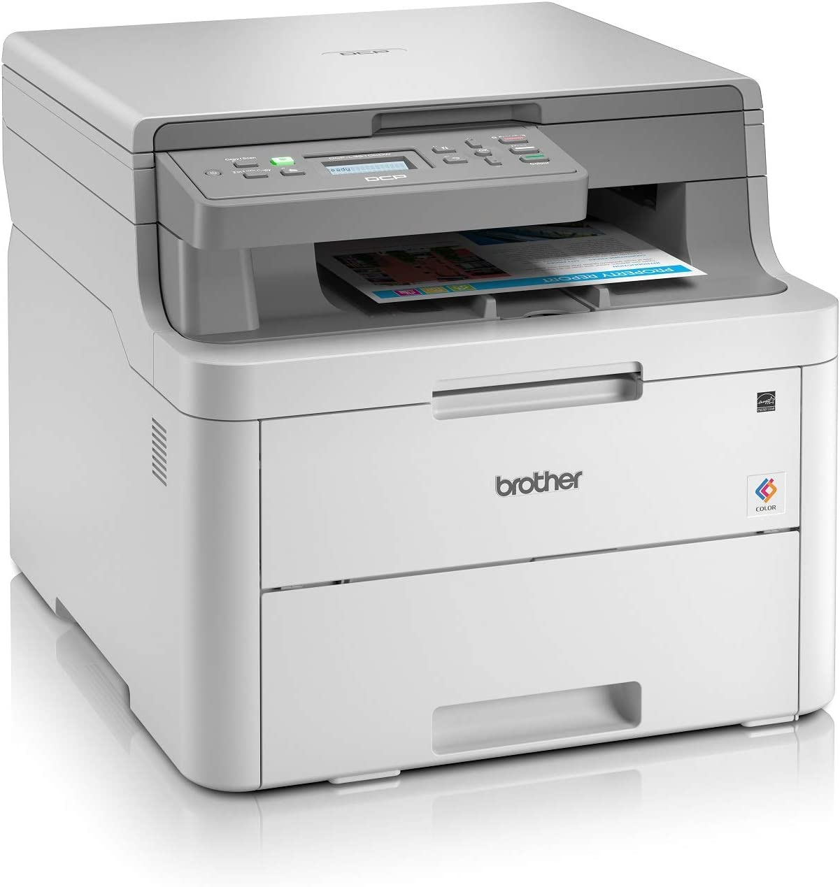 Brother DCP-L3510CDW - Impresora multifunción (Wifi, USB 2.0, 512 ...