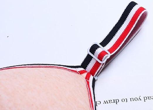 Winwinus Womens Stretch Basic Cotton Double Layers Elegance Bra 3 Pack
