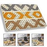 Doormat, Indoor Outdoor Waterproof, Non Slip Washable Quickly Absorb...