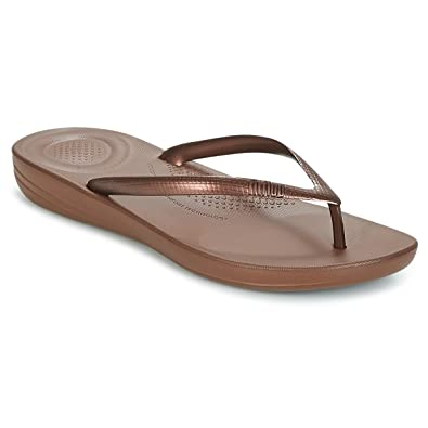 ca52435fe5651 Fitflop Women Iqushion Ergonomic Flip-Flops Toe Thong Sandals   Amazon.co.uk  Shoes   Bags