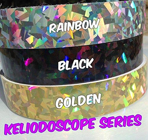 KINCREA Weighted Adult 2lb, Snap Detachable Hula-Hoop Size Adjustable Workout for Fitness, 60 Feet, Rainbow Kaleidoscope by KINCREA (Image #3)