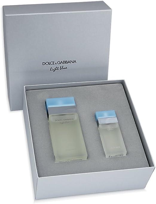 Dolce & Gabbana. Light Blue Lote 2 Pz: Amazon.es: Belleza